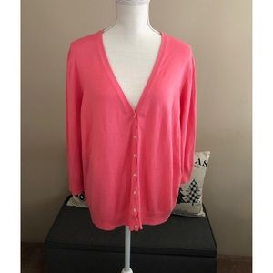NWT Old Navy Coral Cardigan Sweater XXL